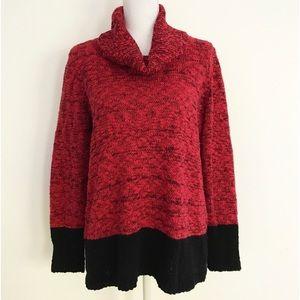 EUC Karl Lagerfield Paris Marled Cotton Sweater M